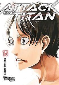 Attack On Titan 15-allemand-willard Manga-article Neuf-afficher Le Titre D'origine