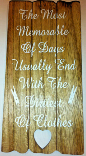 Funny Theme The most memorable... Details about  /Shabby /& Chic Home /& Garden Sign
