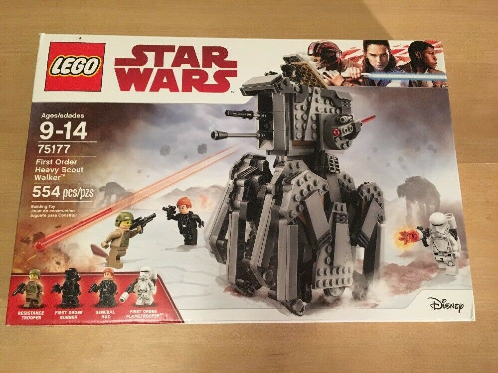*LEGO Star Wars First Order Heavy Scout Walker 75177 Nuovo Factory Sealed SHIPPED*