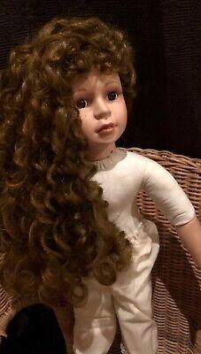 """Orchidee Puppe /""""Tamara/"""" 50cm Stehende nackt"""
