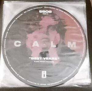 5 Seconds of Summer (5SOS) - Calm - Picture Disc Vinyl LP -Best Years Luke Remix