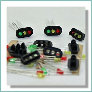 Fine 3 Led Oval Signal Light Kits For Train Traffic Lights Oo Gauge Wiring 101 Olytiaxxcnl