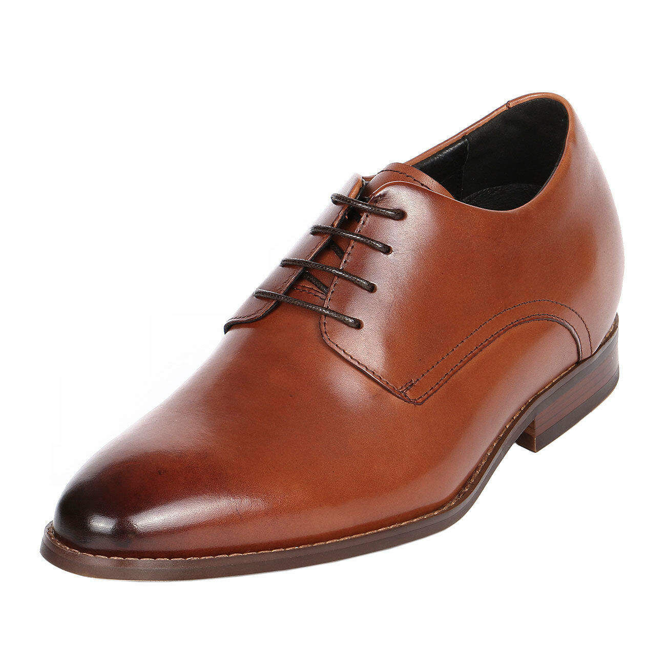 Built for Height 3  Brown Comfort with JOTA's Tall Men shoes, CYD48BR