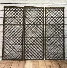 Framed Willow Garden Trellis Panel 1.2m x 0.45m Minster By Smart Garden