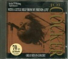 Joe Cocker With a little help from my friends-Live, great hits in concert.. [CD]