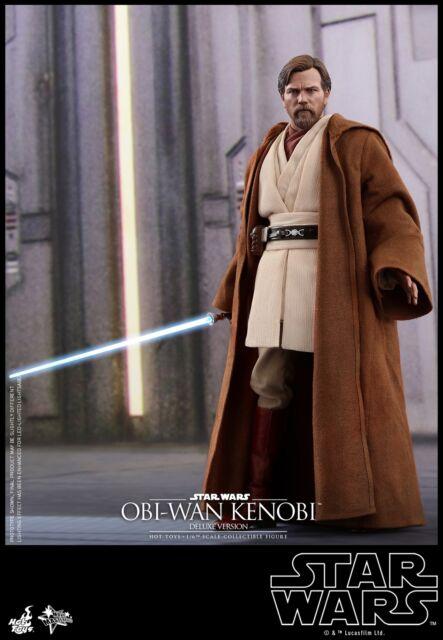 Hot Toys Star Wars: 3 Revenge of the Sith 1/6th Obi-Wan Kenobi (Deluxe) MMS478