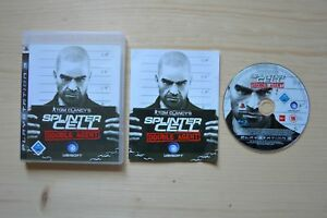 PS3-Tom-Clancy-039-s-Splinter-Cell-Double-Agent-OVP-mit-Anleitung