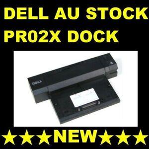 Dell-PR02X-e-Port-Plus-Dock-For-E4200-E4300-E5400-E5500-New-NO-AC-5-x-USB-2-0