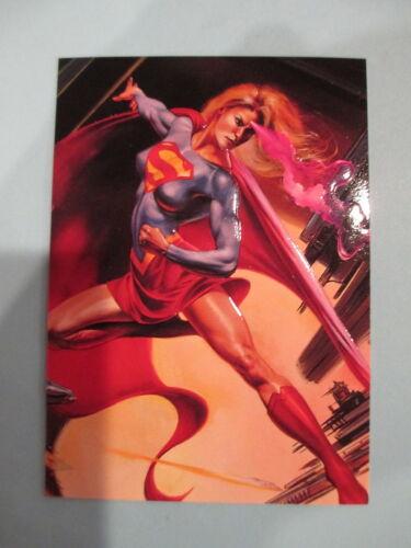 Marvel Versus DC Impact Chase Insert ~ #11 of 18 ~ Supergirl ~ Julie Bell