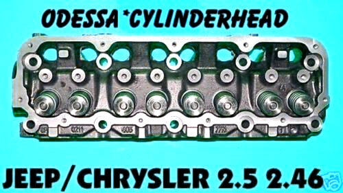 NEW JEEP CHRYSLER 2.5 2.46 OHV CYLINDER HEAD CAST# 117 & 403 YEARS 89-02 NO CORE