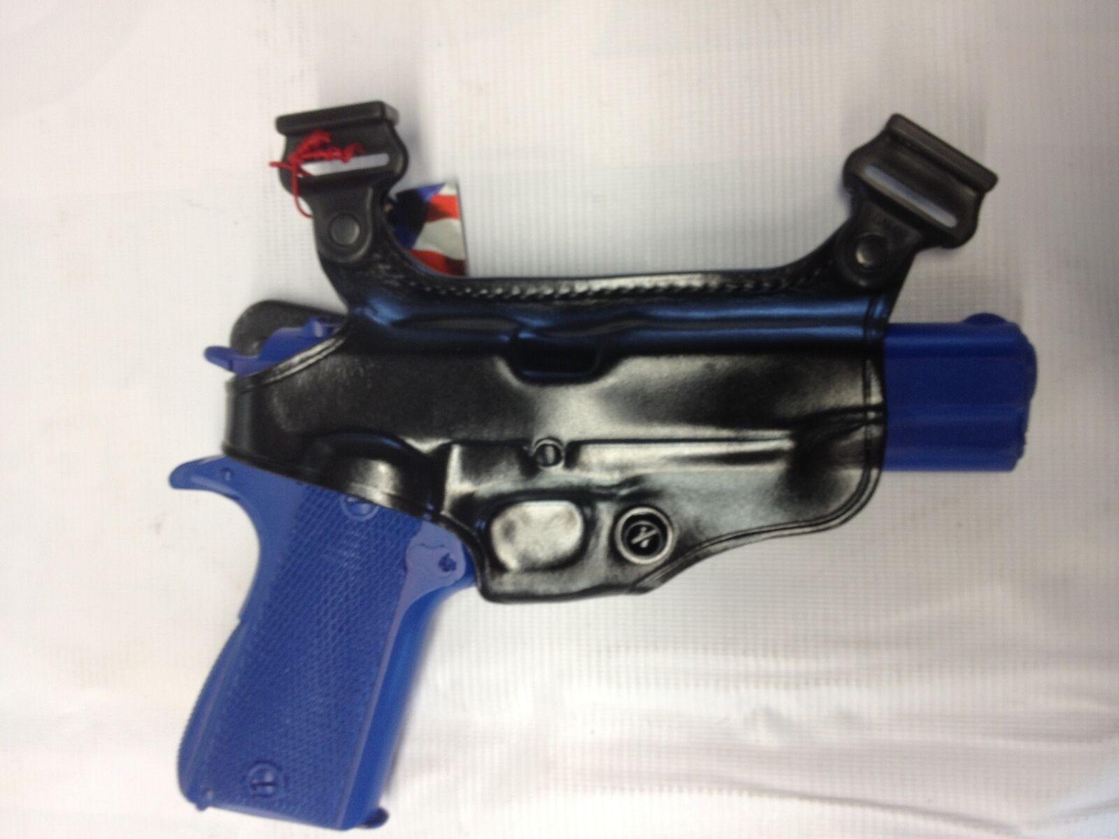 Funda de hombro Galco S3H componente en Negro Glock 9mm  .40, Derecha S3H-224B