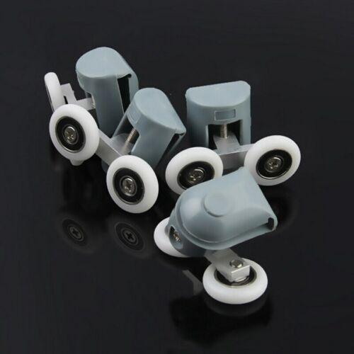 8Pcs Double Shower Door Rollers//Runners//Wheels TOP or BOTTOM 23mm Wheel