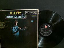 LIBBY MORRIS  Ad-Libby   LP   Easy Jazz  Fem Vox     GREAT !!