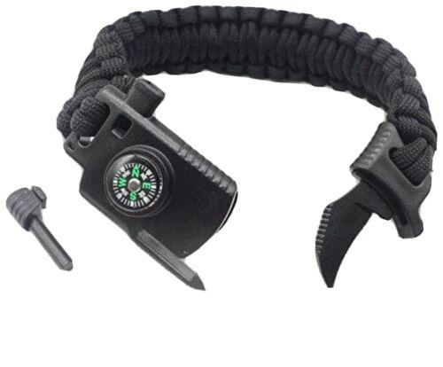 Men-Non Adjustable Tactical paracord bracelet
