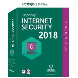 Kaspersky Internet Security 2018 1 PC 1 anno ESD