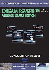 Xtreme Samples Dream Reverb Vintage Gear 2 HD (Reverb Impulse Response Library)