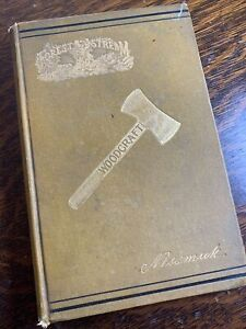 """WOODCRAFT 1884 1ST ED WILDERNESS GUIDE by """"NESSMUK"""" GEORGE SEARS"""