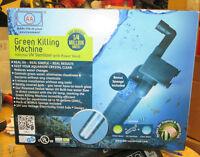 GREEN KILLING MACHINE INTERNAL UV STERILIZER w/POWERRHEAD 9W NEW