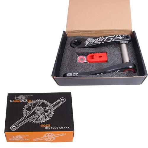170mm Crank BB Chainring 34//36//38//40T MTB Bike Chainset Crankset Narrow Wide GXP