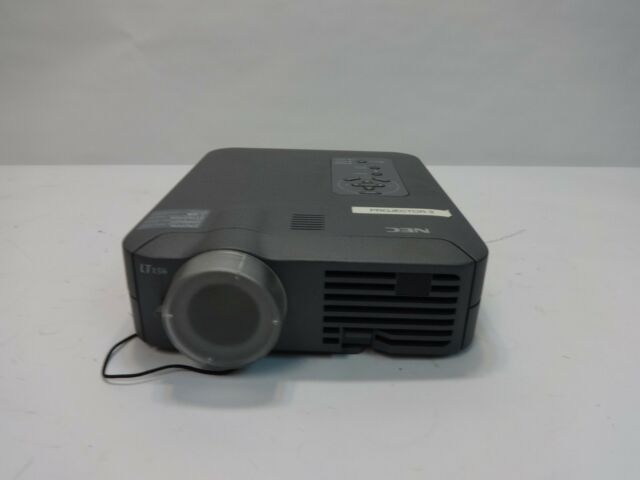 NEC MultiSync LT156 LCD Home Theater / Business Projector - For Parts / Repair