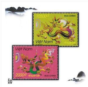 Vietnam-Dragon-Stamp-2pcs-2012-UNC-2012-2