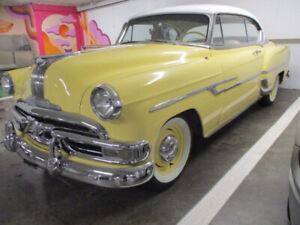 REDUCED!  1953 PONTIAC CHIEFTON 2 DR HT