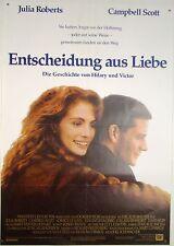Entscheidung aus Liebe DYING YOUNG Julia Roberts - Filmplakat DIN A1