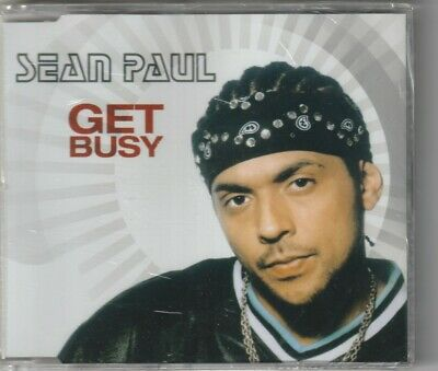 "SEAN PAUL cd single ""Get Busy"" 2003 Atlantic Australia ..."