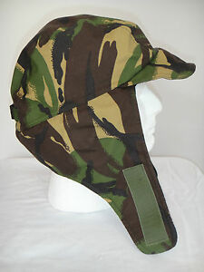 5b2a8737728 British Army DPM Cold Weather Cap Hat New Hunting Paintball Carp ...