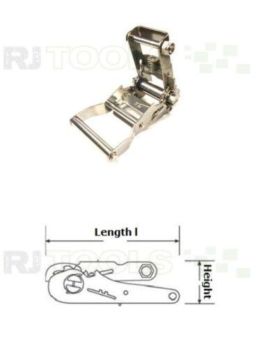 Edelstahl Ratschen für 36 mm gurt Spannratsche 931368-1 stück