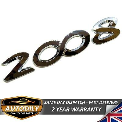 Number 3 Chrome Tailgate Badge Emblem Tailgate Rear Boot