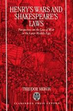 Henry's Wars and Shakespeare's Laws: Perspectives on the Law of War in-ExLibrary