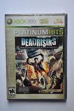 Dead Rising -- Platinum Hits Edition (Microsoft Xbox 360, 2006) Brand New Sealed