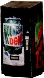 O Scale LIGHTED Vending Machine 1//48 Red Coke Machine Illuminated