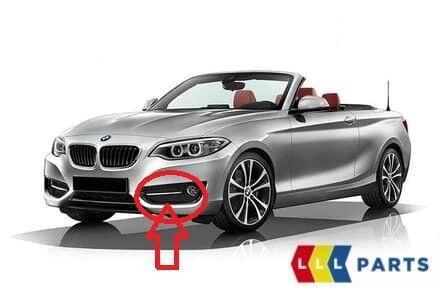 BMW SERIE 2 NUOVO ORIGINALE F22 F23 Luce Antinebbia Griglia Griglia CHIUSA SPORT SINISTRO N//S