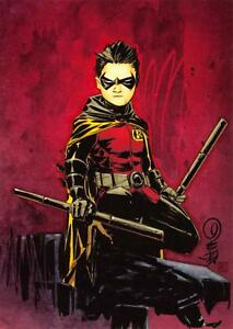 ROBIN-DC-Comics-The-New-52-Cryptozoic-2012-BASE-Trading-Card-44
