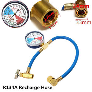Gas Cylinder Coolant R134A For 1 Litre Refill Air Conditioners Car