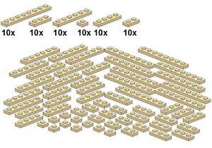 Lego-Bricksy-039-s-Bascis-Tan-B47-Platten-beige-schmal