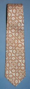 Lilly-Dache-Vintage-Ancho-Corbata-10-8cm-Estampade-Barroco-desplazarse-Retro