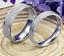 Anello-Coppia-Fedine-Fascia-Satinate-Fidanzamento-Fedi-Incisioni-Regalo-Gratis miniatura 3