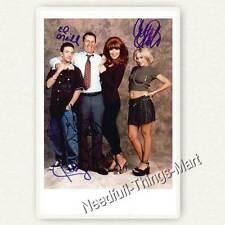 Schrecklich nette Familie - Die Bundys - 4 fach signierte Autogrammfoto 
