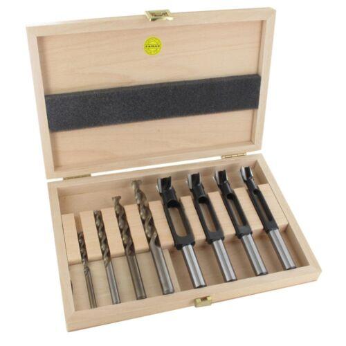 Holzspiralbohrer 8tlg 6 8 10 12 mm 1629.308.00 Holzbox Famag Scheibenschneider