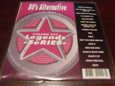 LEGENDS KARAOKE CD+G VOL 247 80s ALTERNATIVE CULTURE CLUB THE CARS PET SHOP BOYS