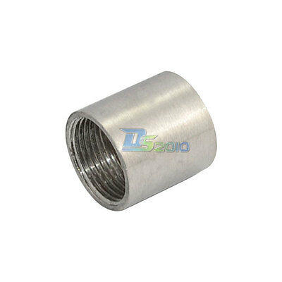 "3/4"" 0.75"" Female x  Female Threaded Pipe Fitting Stainless Steel SS304 NPT NEW"