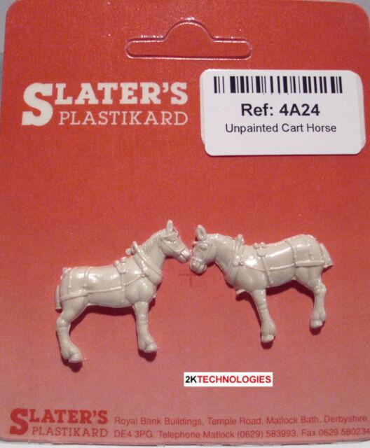 SLATER/'S PLASTIKARD 4A20 1:76 OO SCALE Cement Bags x 10 Unpainted Plastic Kit
