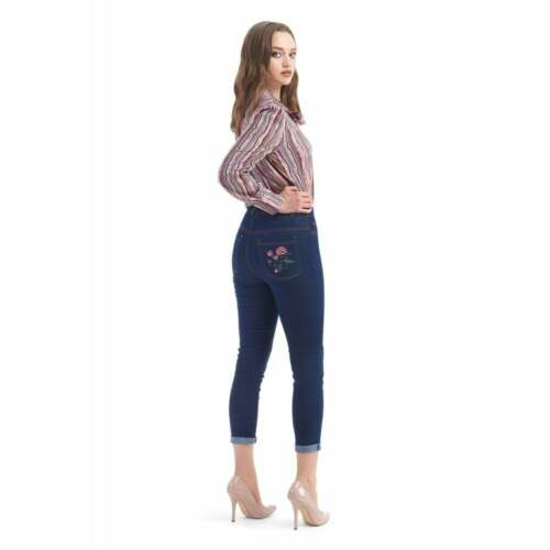 Bright /& Beautiful Caron Folk Floreale Jeans
