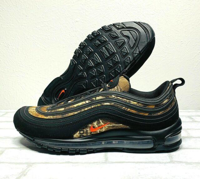 Nike Air Max 97 Realtree Sizes 8 Black