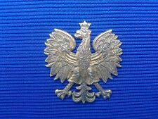 Vintage Poland - Polish Post  Eagle brass - Eagle from the cap