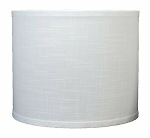 urbanest linen drum lamp shade 12 034 x 12 inch x 10 inch off white. Black Bedroom Furniture Sets. Home Design Ideas