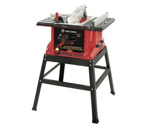 King-Canada-Tools-KC-5005R-10-034-TABLE-SAW-WITH-STAND-AND-RIVING-KNIFE-15-amps-NEW